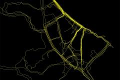 Cycling heatmap
